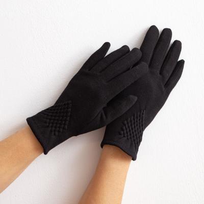 Women's gloves Collorista Style, size 17, black