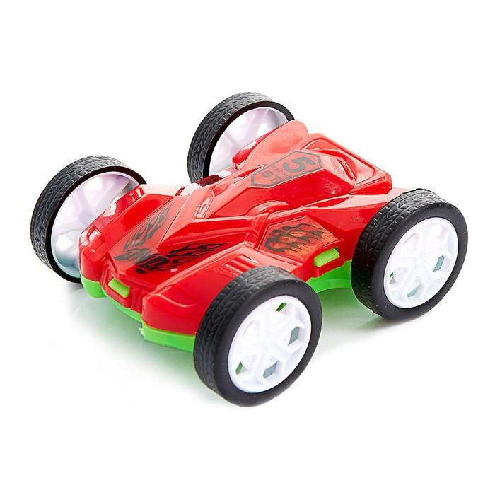 Машина инерционная «Перевёртыш», цвета МИКС