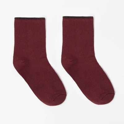 Socks baby wool, color red, R-R 14-16