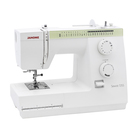 Швейная машина Janome Sewist 725s, 55 Вт, 25 операций, автомат, бело-зелёная