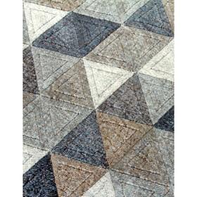 Ковёр прямоугольный Matrix D578, размер 160 х 230 см, цвет gray-blue