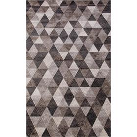 Ковёр прямоугольный Matrix D578, размер 160 х 230 см, цвет gray-brown