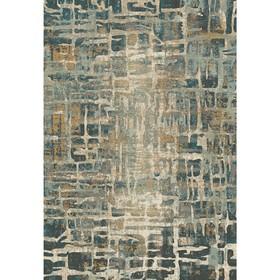 Ковёр прямоугольный Matrix D587, размер 160 х 230 см, цвет beige-blue