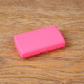 Case for sticks IQOS, 9x5.3x1.5 cm, pink
