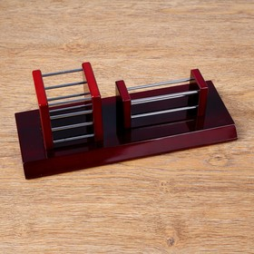 2in1 desktop set (business card holder, pencil holder)