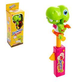 Говорящая игрушка «Динозаврик-повторюша», с функцией записи голоса, МИКС