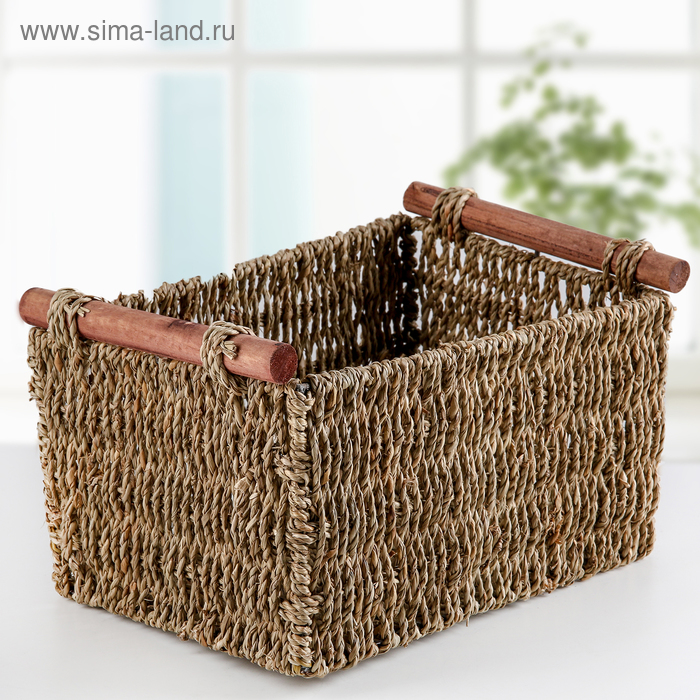 """The storage basket is """"Becoming"""" 29х19х16 cm"""
