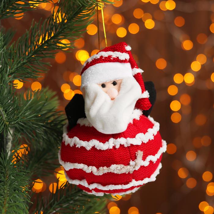 Подвеска «Дед Мороз и Снеговик», виды МИКС