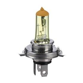 Halogen lamp Cartage Golden Eye P43t, H4, 60/55 W + 30%, 12 V, set of 2
