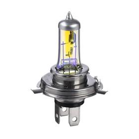 Галогенная лампа Cartage Rainbow P43t, H4, 60/55 Вт +30%, 12 В, набор 2 шт