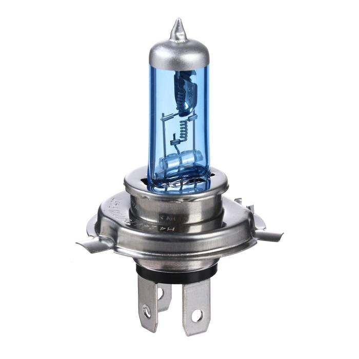 Галогенная лампа Cartage Cool Blue P43t, H4, 75/55 Вт+30%, 24 В, набор 2 шт