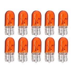 Галогенная лампа Cartage  ORANGE T10 W5W, 5 Вт, 12 В, набор 10 шт