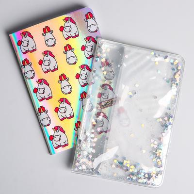 Notebook A6 with glitter, Despicable me, 32 sheets