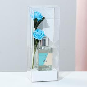 "Диффузор 50 мл, ""Классика"", океан, 2 палочки+цветок"