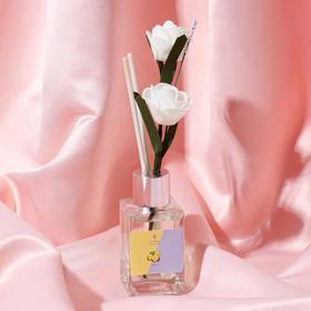 """Диффузор 50 мл, """"Классика"""", лимон, 2 палочки+цветок"""