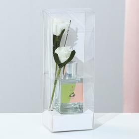 "Диффузор 50 мл, ""Классика"", жасмин, 2 палочки+цветок"