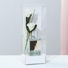 """Диффузор 50 мл, """"Классика"""", ваниль, 2 палочки+цветок"""