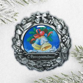 Магнит рождественский «Колокольчики»