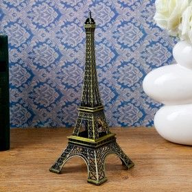 "Table clock ""Eiffel tower"", 24 × 10 cm , mix"