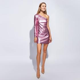 Платье короткое MINAKU, размер 42, цвет розовый