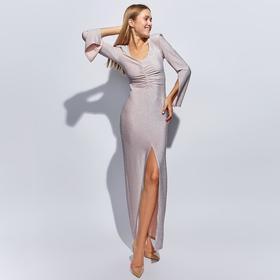 Платье длинное женское MINAKU, размер 42, цвет розовый