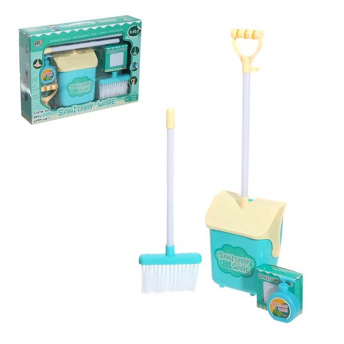 Игровой набор для уборки «Наводим чистоту» - фото 105579005