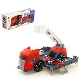 Парковка «Пожарная служба» с машинками