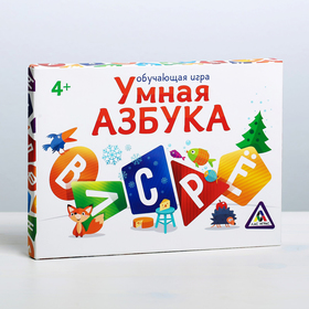 Обучающая магнитная игра «Умная азбука»
