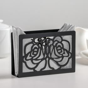 {{photo.Alt    photo.Description    'Салфетница «Цветы», 15×4×10 см, цвет чёрный'}}