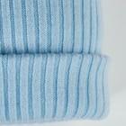 Шапка детская с помпоном, размер 50-52, цвет голубой - фото 105564981