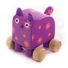 Фигурка деревянная «Кошечка Мяу»
