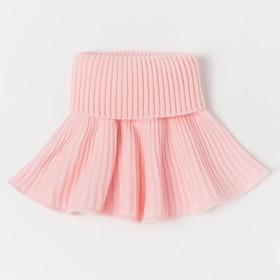 Манишка детская, цвет розовый, размер 48-50
