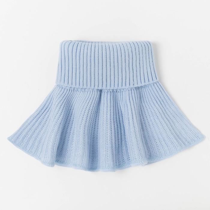 Манишка детская, цвет голубой, размер 48-50 - фото 2056851