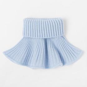 Манишка мини, цвет голубой, размер 40-42