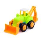 Трактор инерционный, цвета МИКС