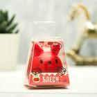 """Блеск детский для губ """"Мяу"""", красный котик, аромат вишня 12 грамм - фото 105551243"""