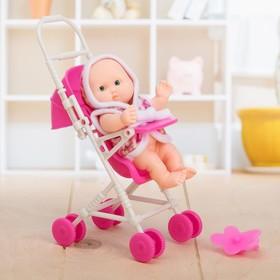 Пупс «Малыш в коляске», МИКС в Донецке