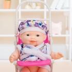 Пупс «Малыш в коляске», МИКС - фото 106528361