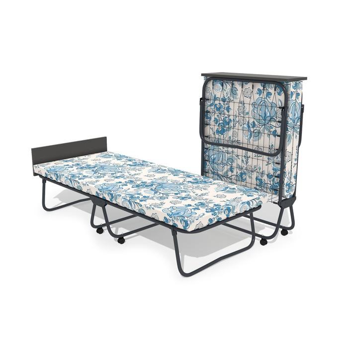 Кровать-тумба «Престиж» с матрасом, сетка, 1950 × 800 × 440 мм, цвет МИКС