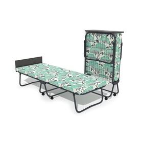 Кровать-тумба «Бриз» с матрасом, 195 × 70 × 39 см, цвет МИКС