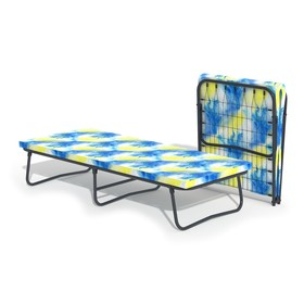Кровать-тумба «Ника» с матрасом, 195 × 80 × 42 см, цвет МИКС