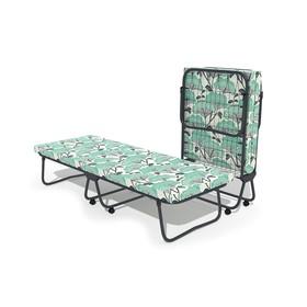 Кровать-тумба «Уют» с матрасом, 195 × 70 × 39 см, цвет МИКС