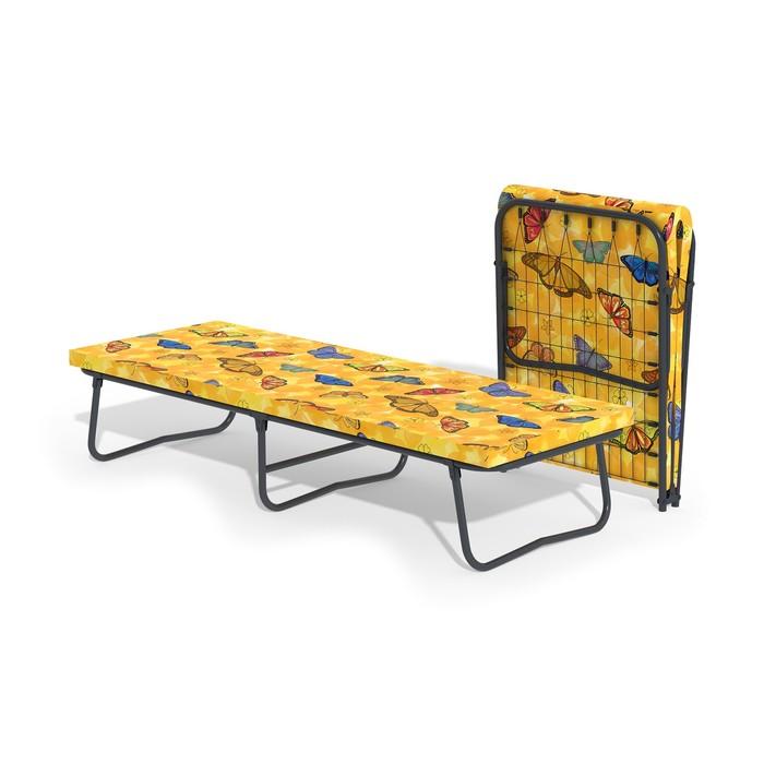 Кровать-тумба «Гармония» с матрасом, сетка, 1950 × 700 × 390 мм, цвет МИКС