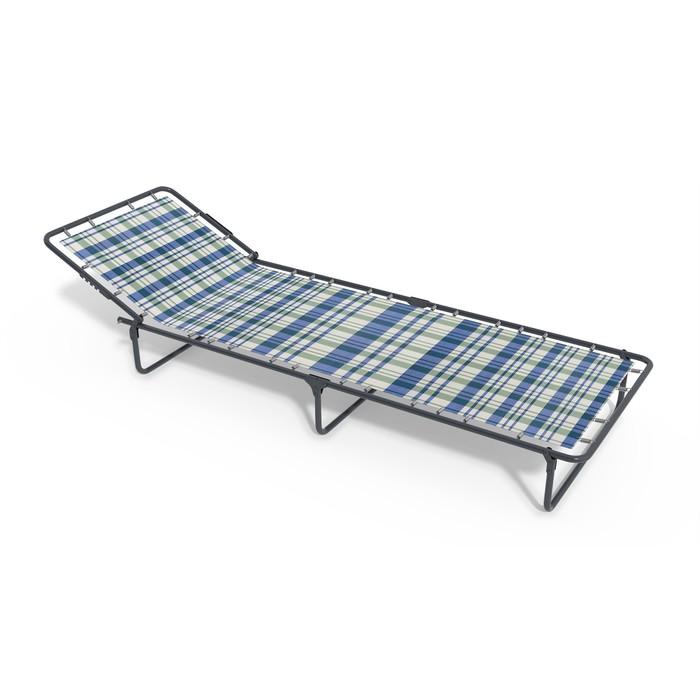 Раскладная кровать «Олеся» без матраса, ткань, 1960 × 660 × 240 мм, цвет МИКС