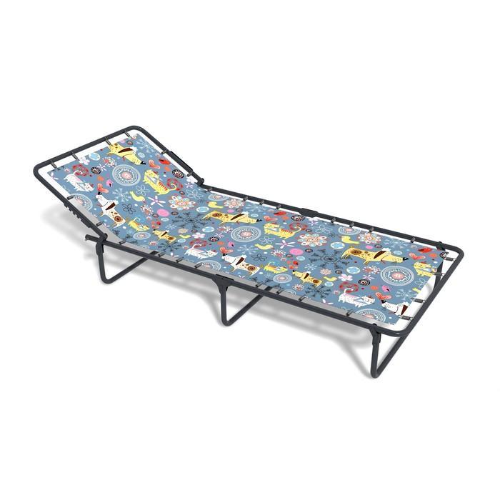 Раскладная кровать «Кроха» без матраса, ткань, 1450 × 660 × 240 мм, цвет МИКС