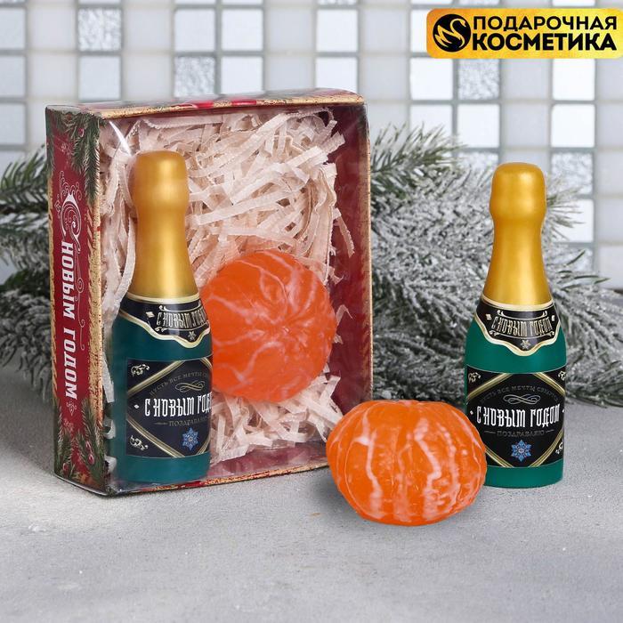 """Подарочный набор """"С Новым годом!"""": 2 мыла"""