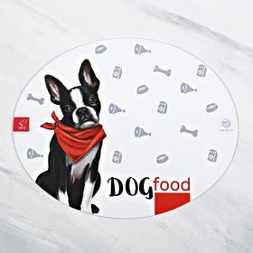 Коврик под миску Dog Food 35х28 см