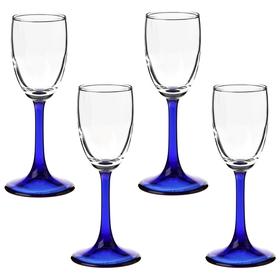 Набор рюмок для водки 73 мл Imperial blue, 4 шт