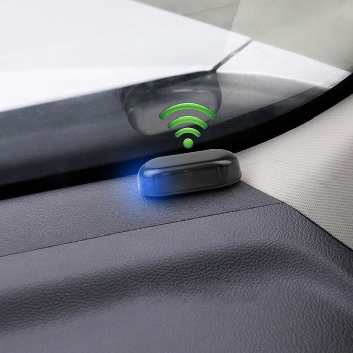 Имитатор автомобильной сигнализации, синий индикатор