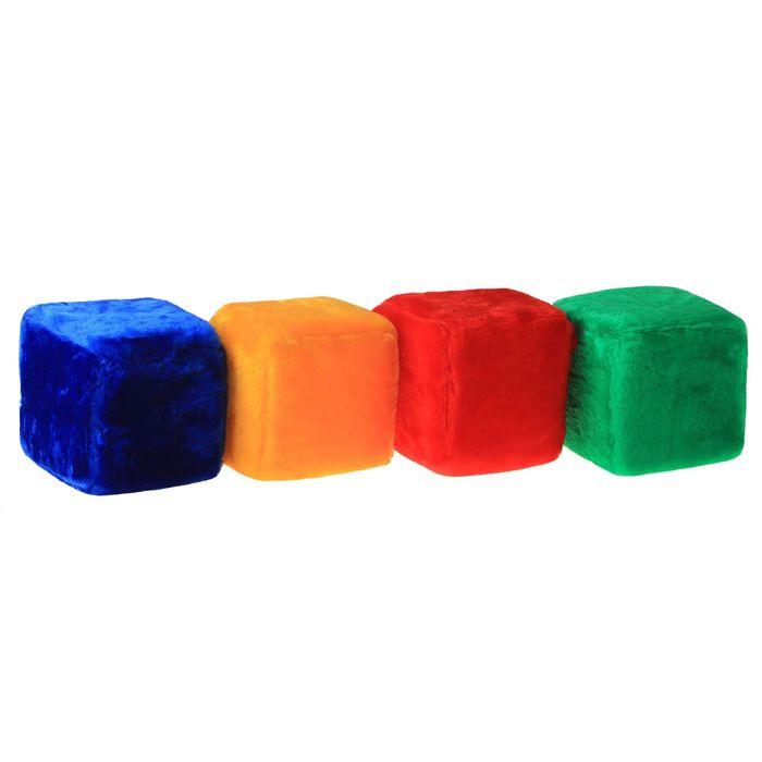 """Мягкая игрушка """"Весёлый кубик"""", 12 элементов"""